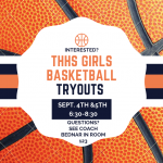 Girls Basketball Tryouts Sept 4th & 5th