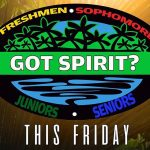 1st Got Spirit Game This Friday 9/27