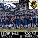CIF Seminfinals Boys Football @ Home 11/22