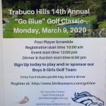 Golf Tournament Fundraiser March 9th