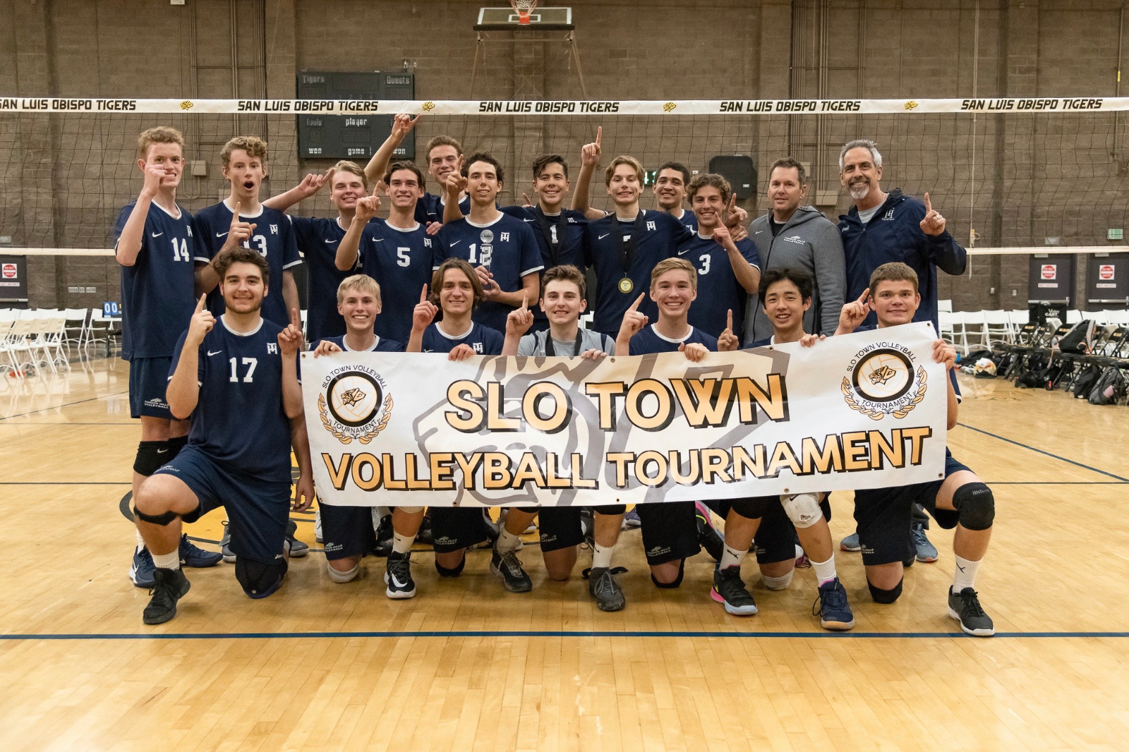Boys Volleyball Wins San Luis Obispo Tournament!