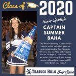 Senior Spotlights Summer Baha Cheer