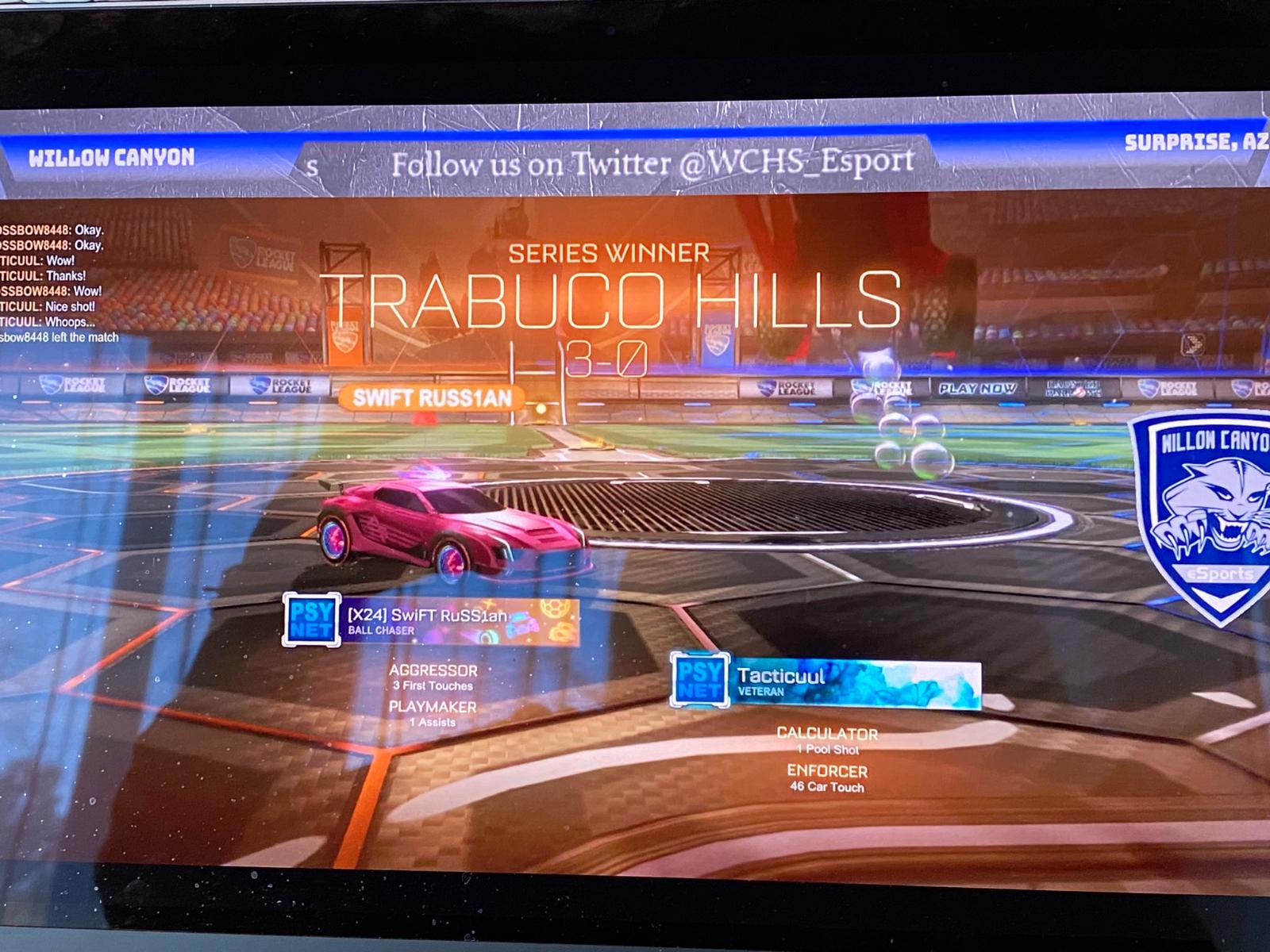THHS eSports Wins Opener vs. Arizona