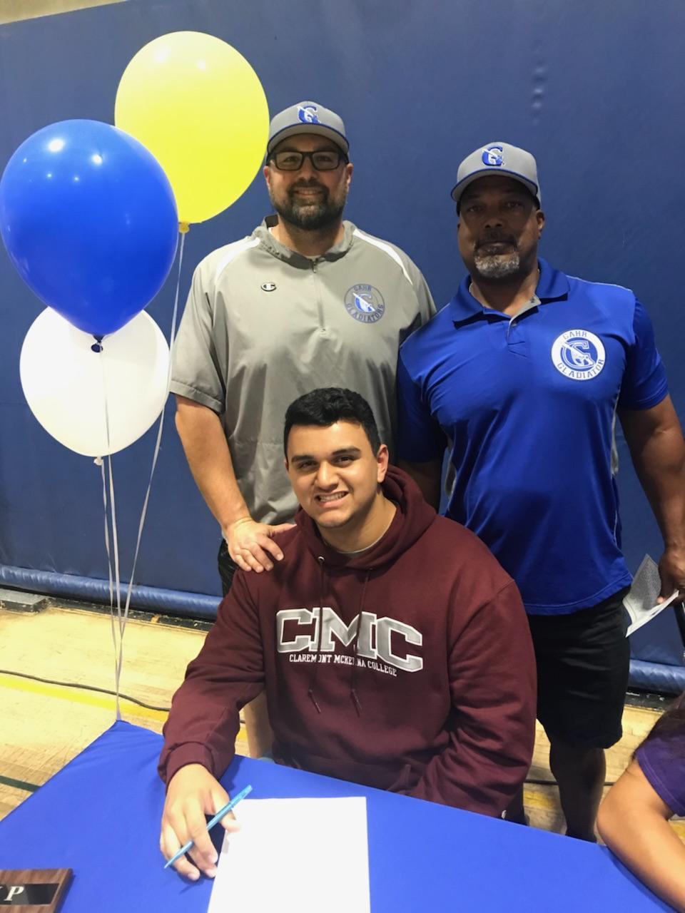 2018 Football Signee: Mason Hernandez will play at Claremont Mckenna College