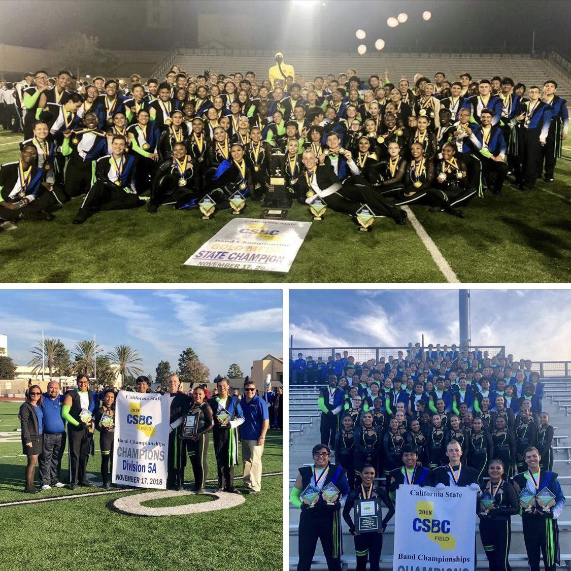 Gahr Wins California State Band Championships! 🏆