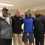 Utah Utes Head Coach Visits Micah