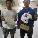 Simpson Brothers SGVL All League and Gladiator Helmet award recipient.
