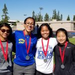 Frosh/Soph squads  show well at Downey Relays