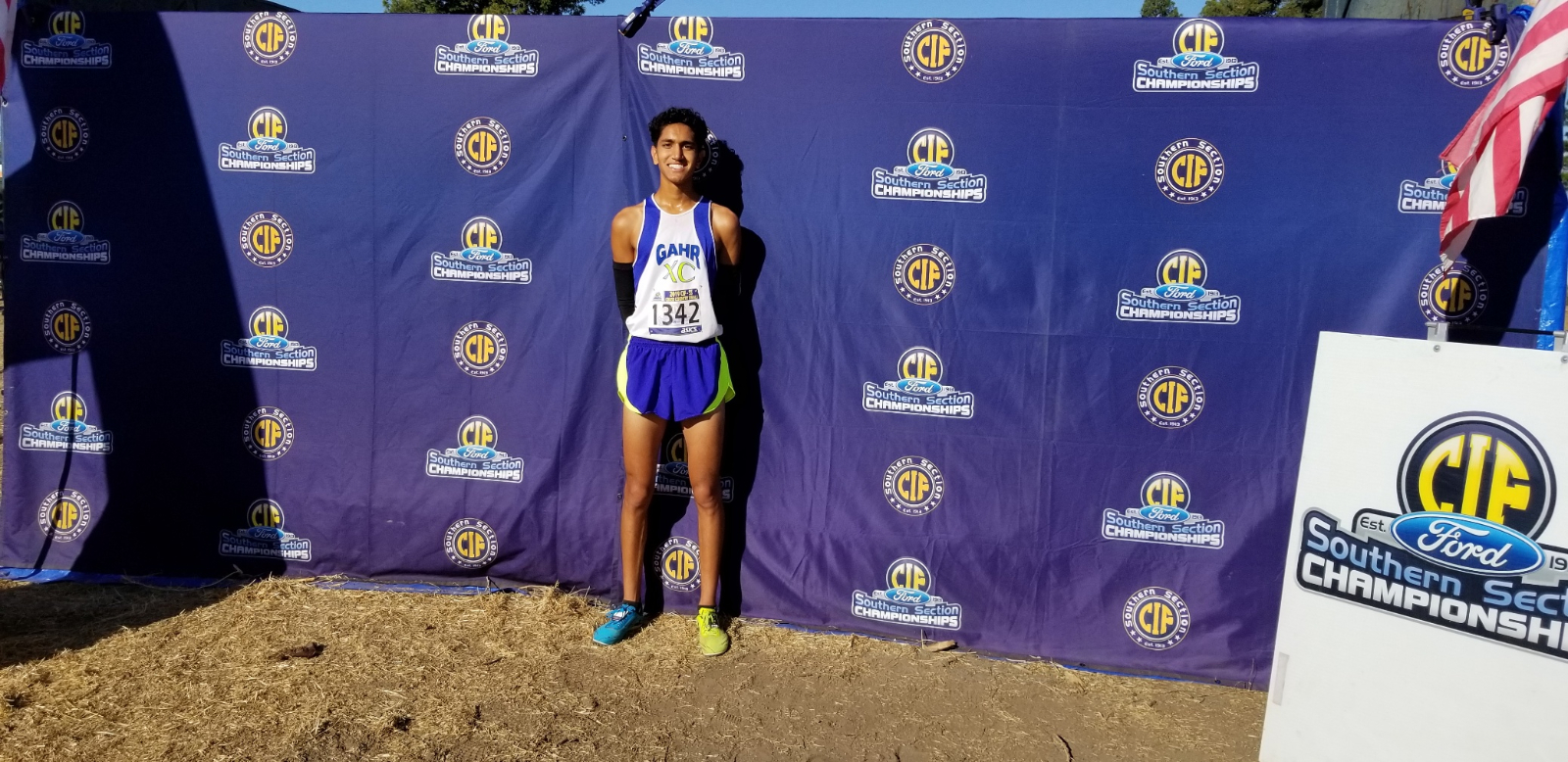 Kishan Patel makes school history by being the 1st Gahr athlete to go to State twice.