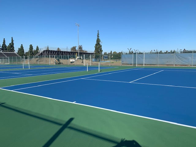 Gladiators new tennis courts
