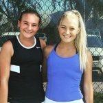 First Girls Tennis match a success!!!