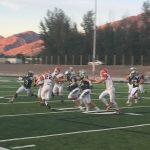 Ridgeline High School Varsity Football beat Bear River High School 22-7