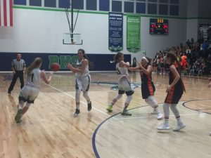 Girls basketball vs. Mountain Crest