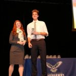 "Jaxon Brenchley receives the ""SOAR"" OSPY Award"