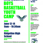 Boys Basketball Youth Camp