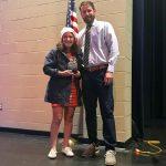 Harward Earns the Sportsmanship Award