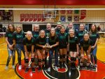 Girls 7th Grade Volleyball defeats Frankfort 2-0 to claim Clinton County Championship