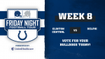 Vote for CC vs. Delphi on Colts' Friday Night Football Tour Game of the Week!