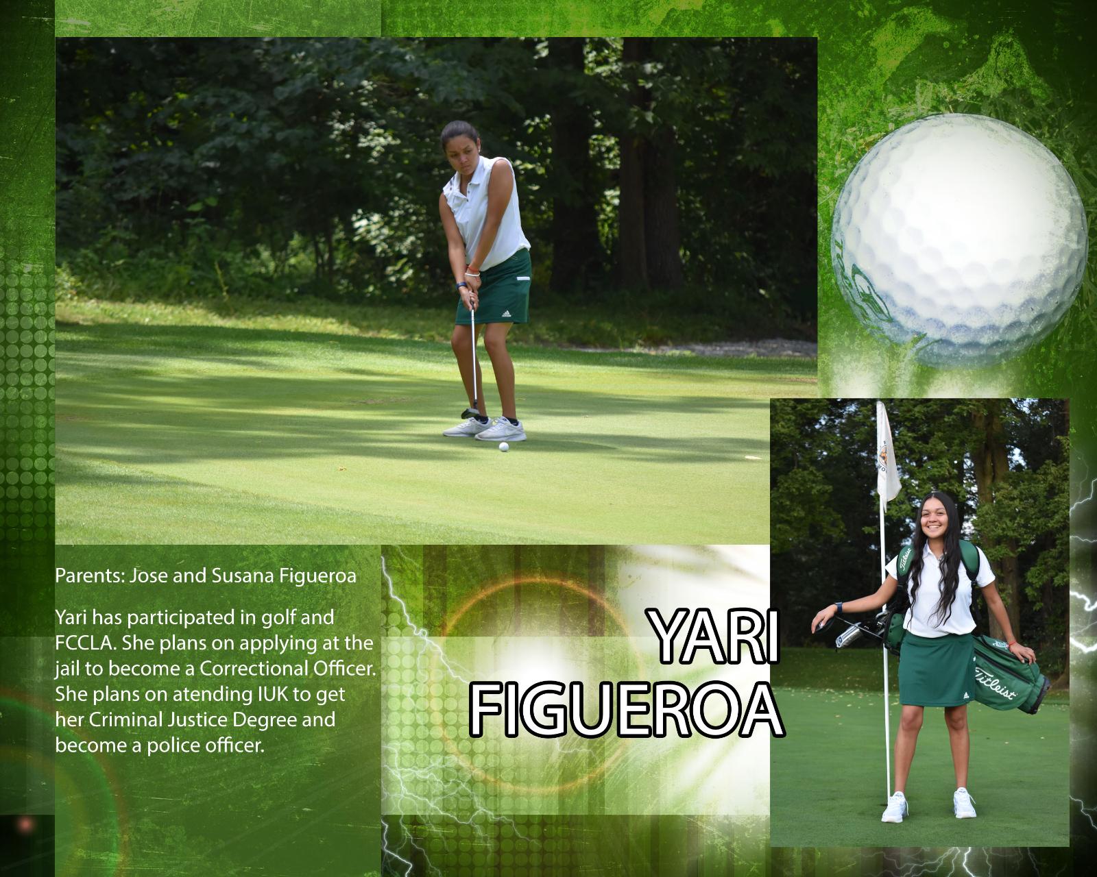 Senior Girls Golfer – Yari Figueroa