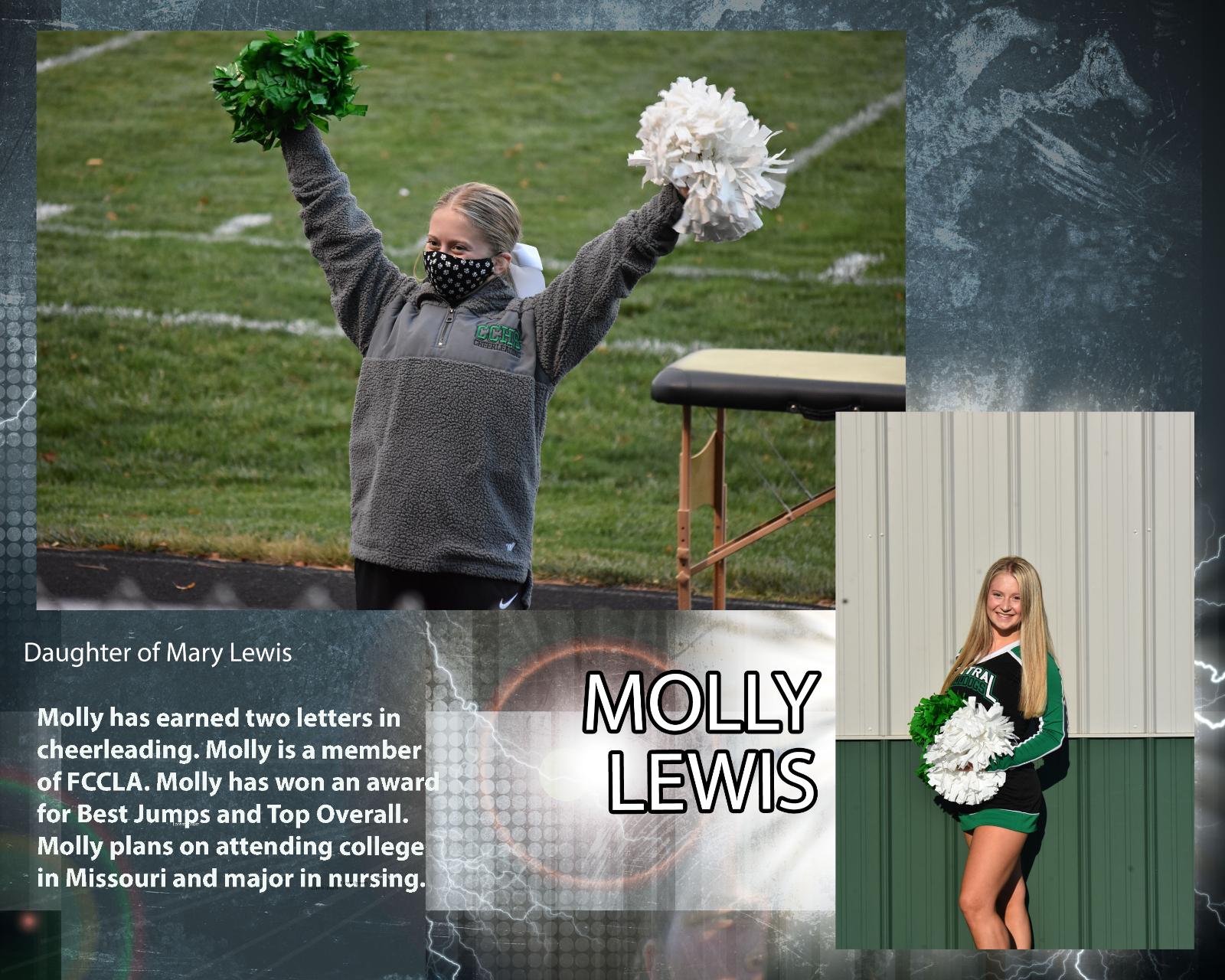 Senior Cheerleader – Molly Lewis