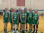 Girls 7th Grade Basketball beats Rossville and Frankfort to win Clinton County Tournament