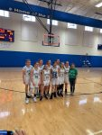 7th Grade Girls Basketball wins Hoosier Heartland Conference Tournament!