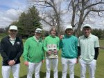 Boys Varsity Golf finishes 1st place at Caston Invite, Harness placed 3rd overall with a 91