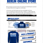 Official Berlin Nike Apparel