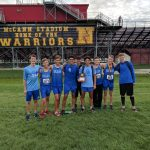 Boys Varsity Cross Country finishes 3rd place at Westerville North High School