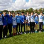 Boys Varsity XC finished as District Runner-Up at D2 Central District Championships