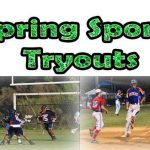 Spring Sports Tryout Dates Posted