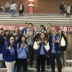 Berlin Girls Swimming Finishes Strong at District Meet