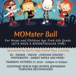 MOMster Ball scheduled for Oct. 17!