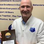 Congrats to Berlin's AD on being named AD of the Year for the Central District Wrestling Officials Assn.