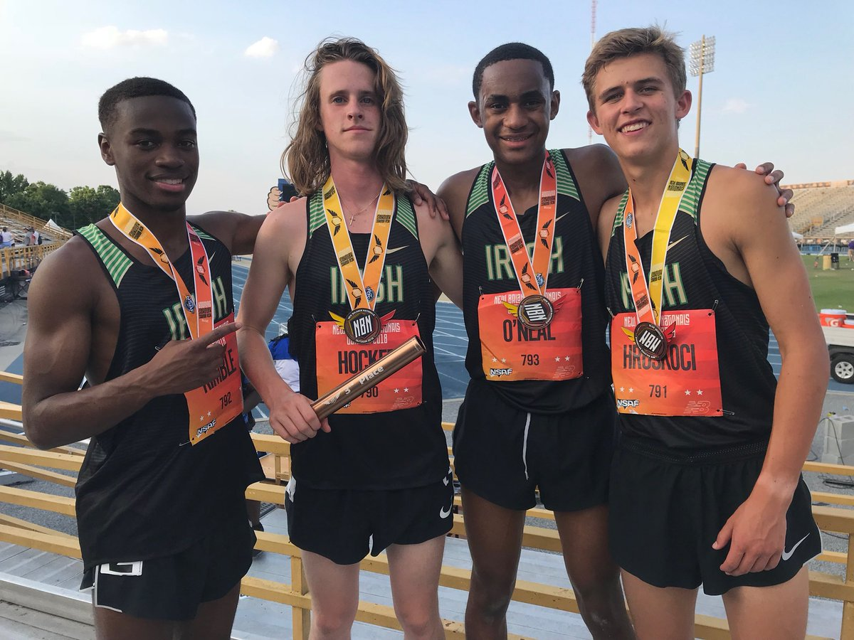 DMR Team Finishes 3rd at New Balance Nationals
