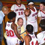 Girls Varsity Basketball beats Trinity 40 – 39