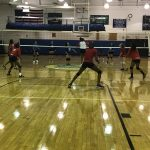 Final Test is Passed by Lady Ironmen V-ball Before Season Starts