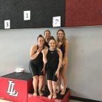 Girls Varsity Swimming ties Lansing 2 – 2