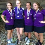 Rhodes fires career best to lead Lady Pirate golfers to second place at Topeka Hayden.