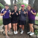 Lamberd Strikes gold as Lady PIrates golf team finishes in first place