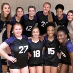 Freshman Volleyball team ends season with a WIN over Louisburg