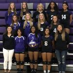 Varsity Volleyball loses to Frontier League Champion, Louisburg