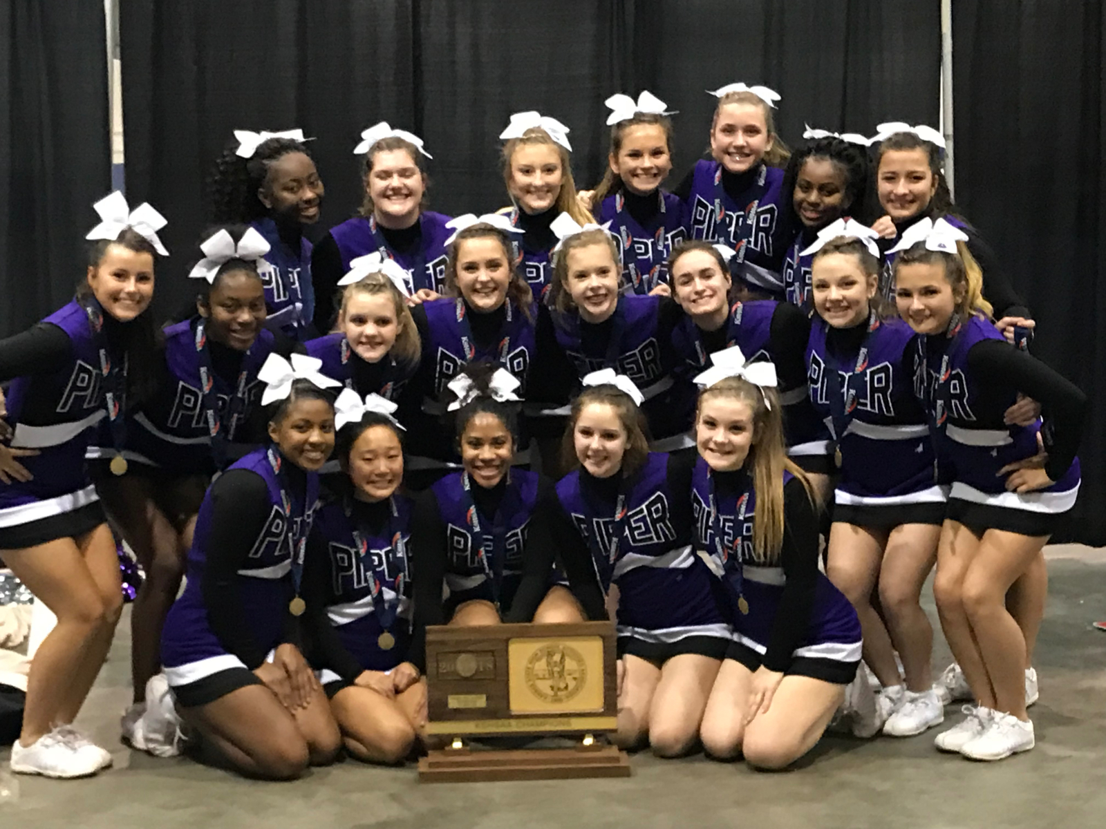 PIPER CHEER 4A STATE CHAMPIONS!!!!