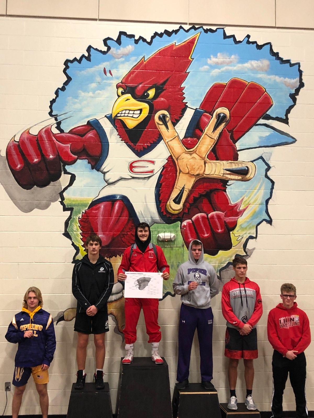 Pirates Wrestling Place 6th at the Tournament of Champions