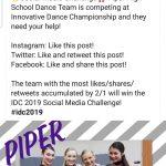 Dance Team Social Media Challenge!