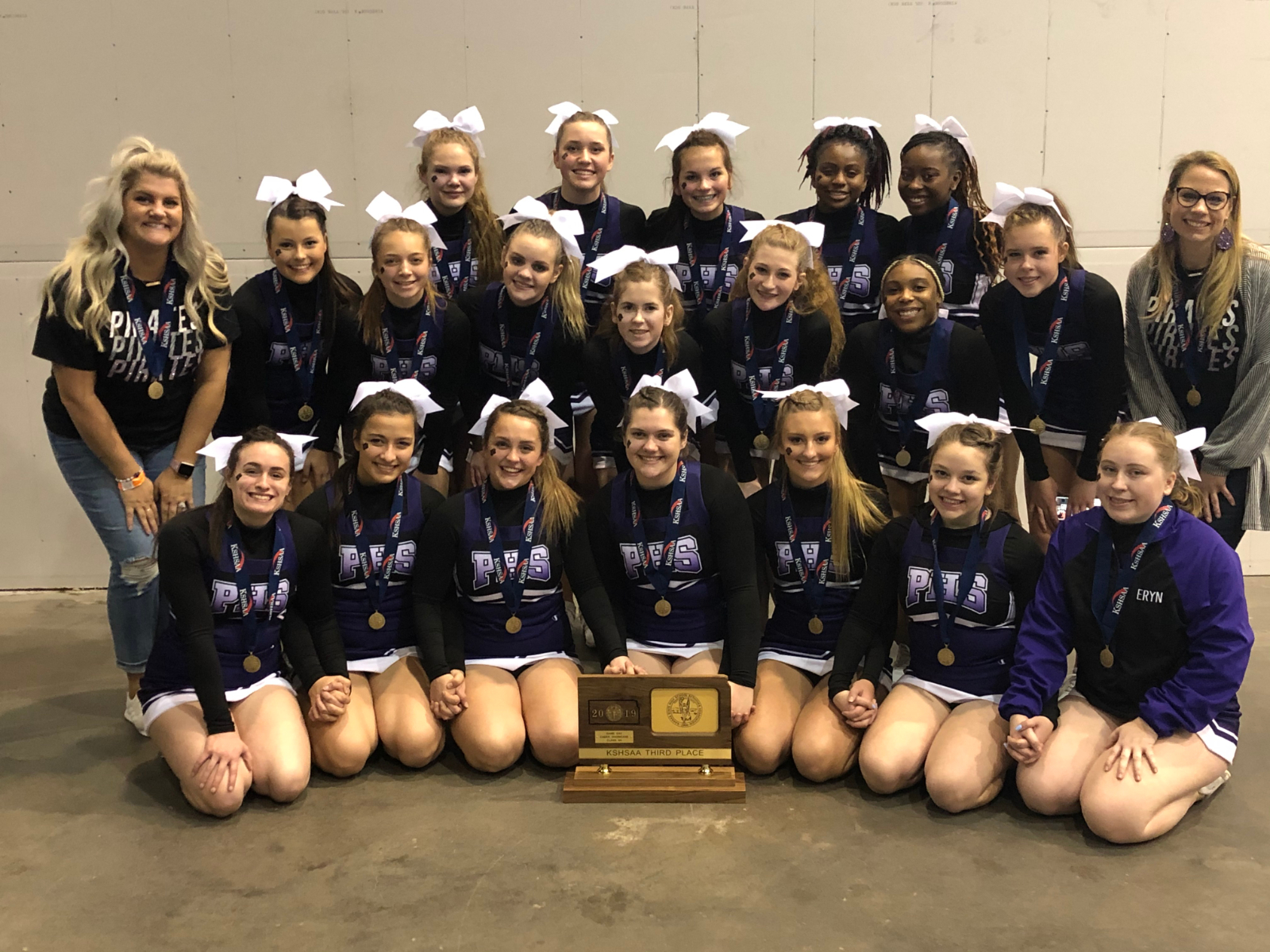 Piper Cheer Takes 3rd Place!