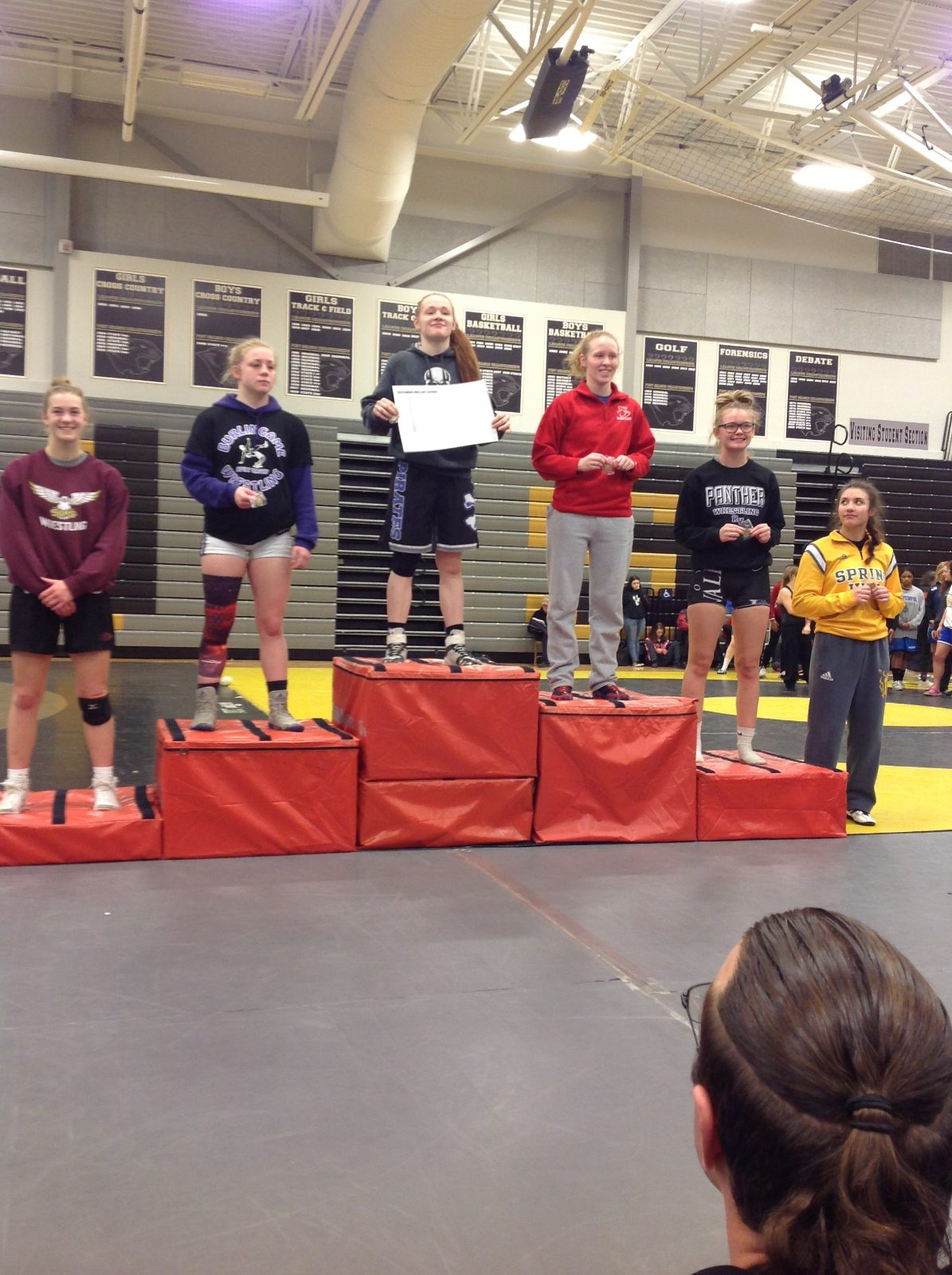 Wrestling Results from the Weekend