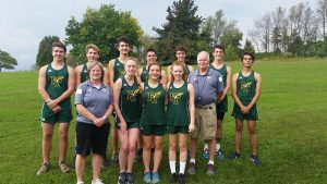 Cross Country Runners – Senior Day