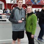 Congratulations Chris Colligan – Tri-State High Jump Champ.