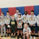 Jr High Wrestlers bring home the hardware at the WCCA County Tournament